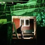 Abel, locatietheater voorstelling op een oude sleepboot